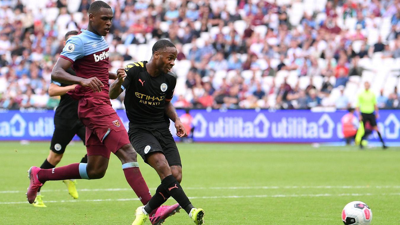 Raheem Sterling, Manchester City goal in 2019/20
