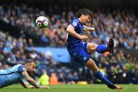 Watch Okazaki's incredible volley at Man City