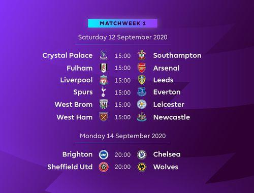 2021 Premier League Fixtures Fixture-Release-Updated