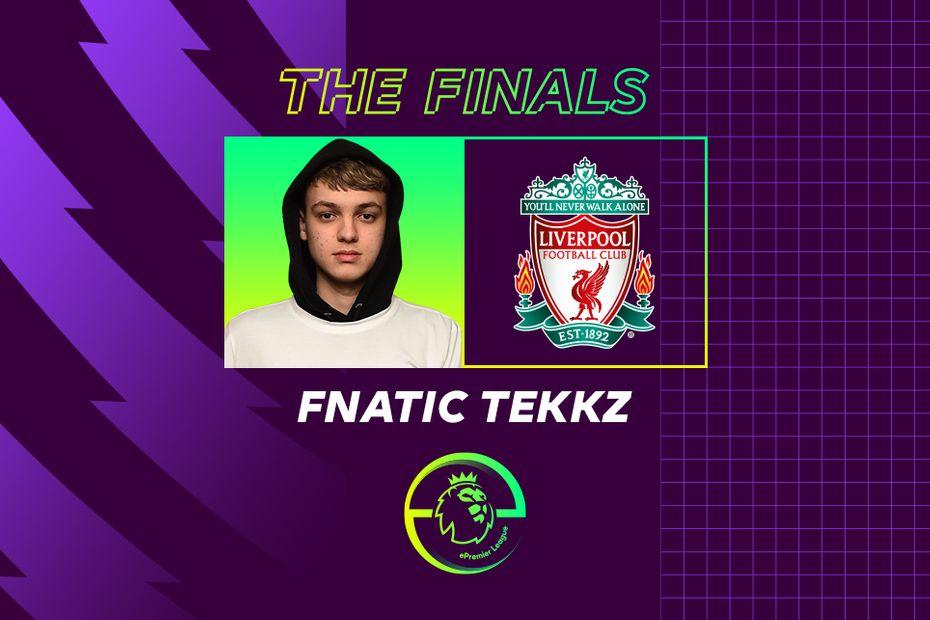 ePL finalist Fnatic Tekkz