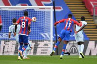Watch Zaha score a screamer against Chelsea