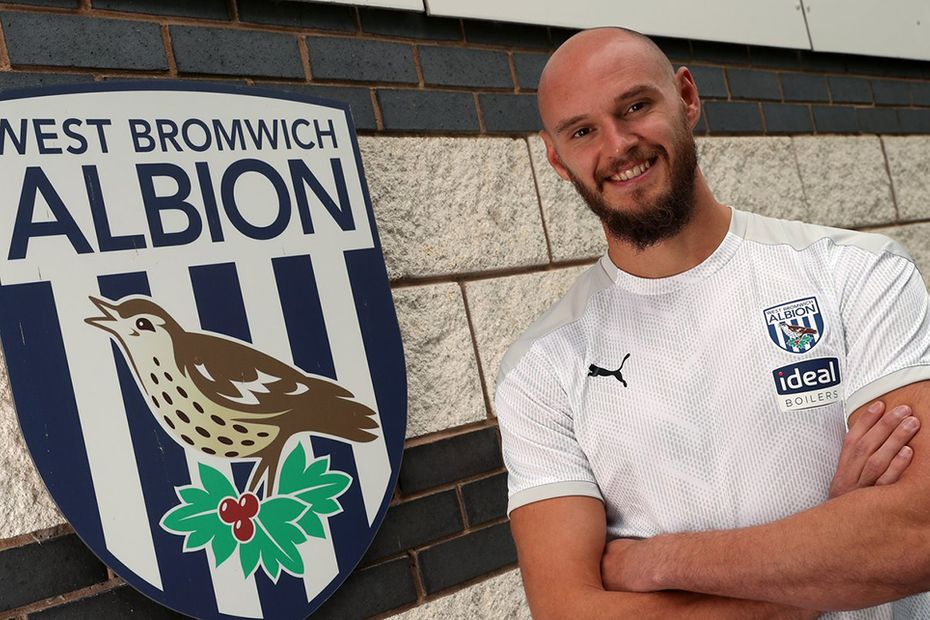 David Button signs for West Brom