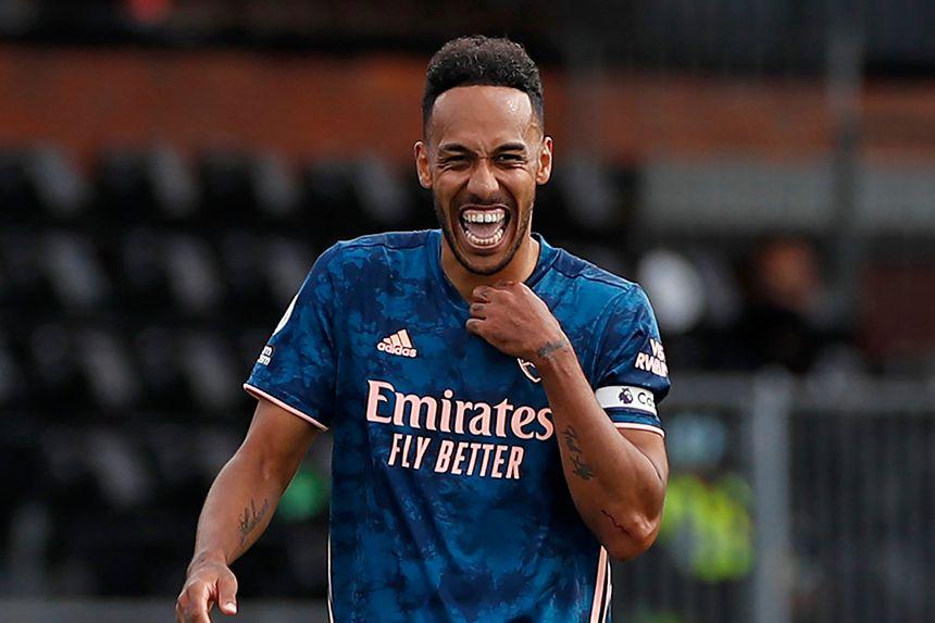 Pierre-Emerick Aubameyang, Fulham v Arsenal