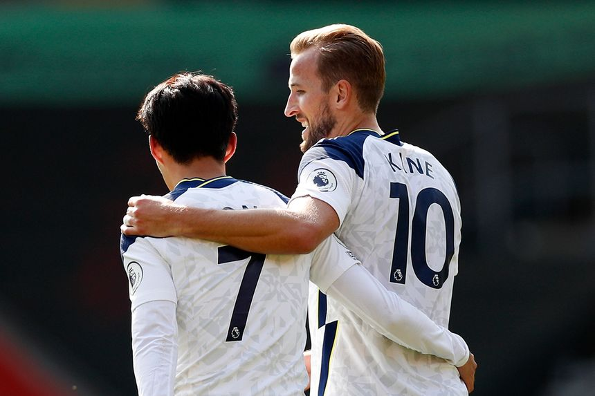 Harry Kane and Son Heung-min, Spurs
