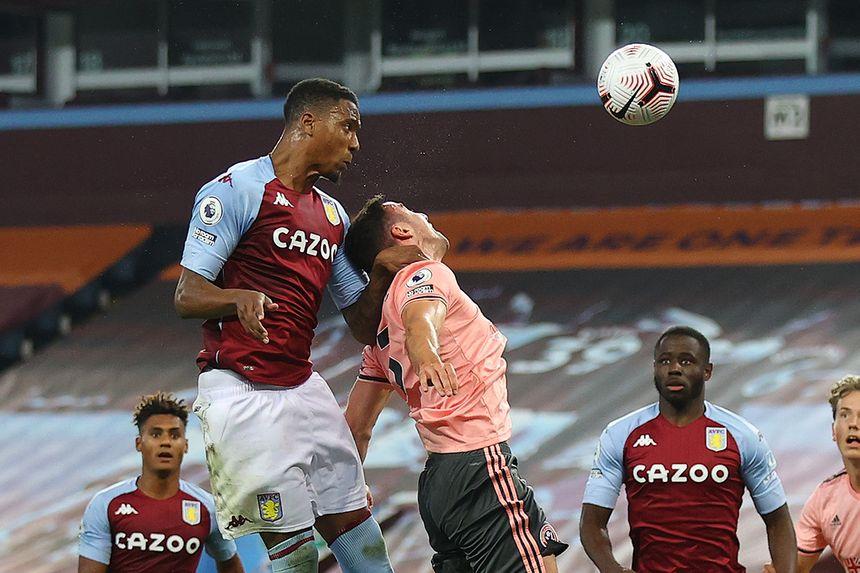 Ezri Konsa scores for Aston Villa