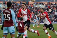 Classic match: Gabbiadini snatches last-gasp point for Saints