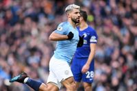 Goal of the day: Aguero crashes in against Chelsea