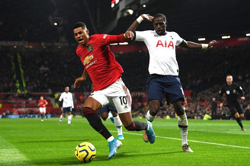 Marcus Rashford, Man Utd, and Moussa Sissoko, Spurs