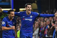Classic match: Morata sees off Palace with double