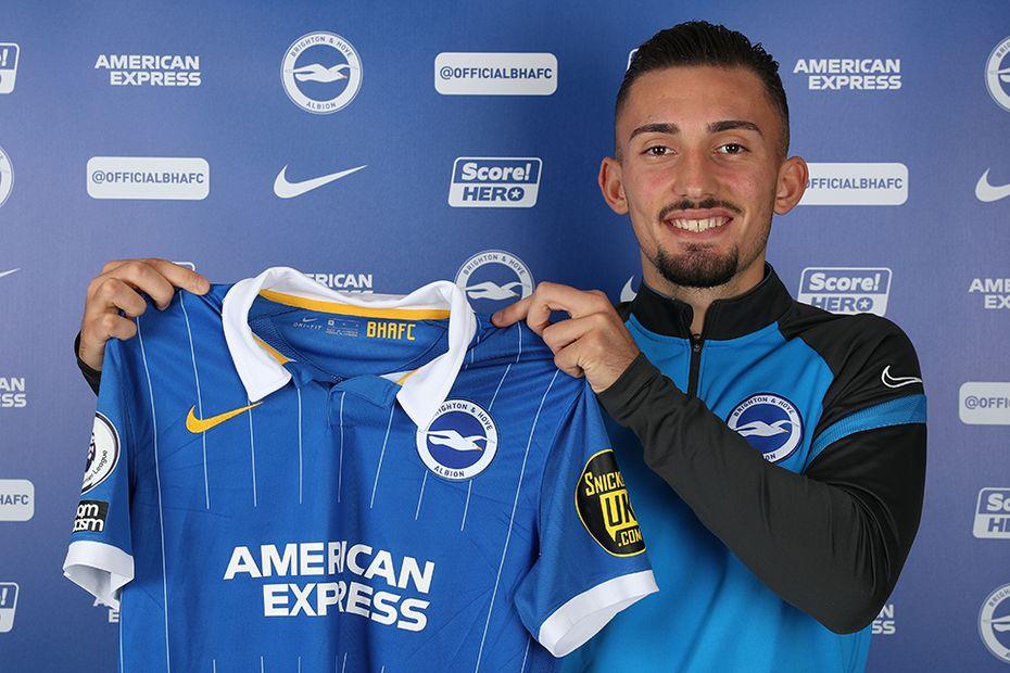 Andi Zeqiri joins Brighton