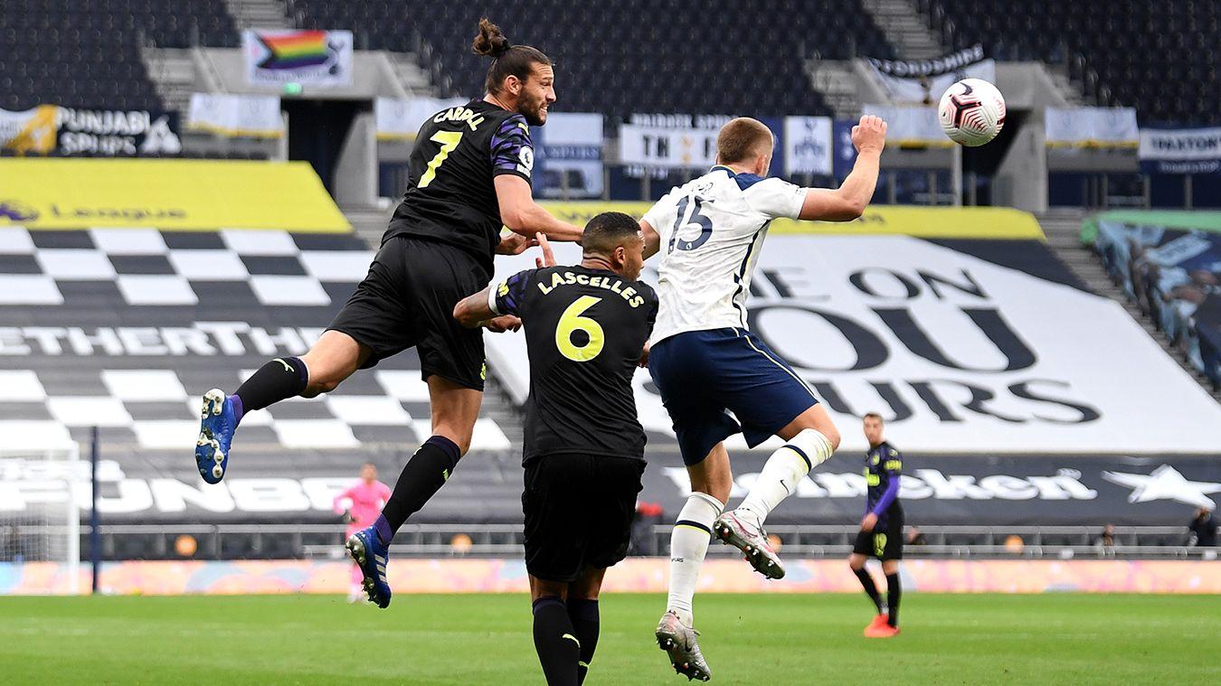 Eric Dier's handball against Newcastle