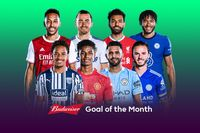 Watch the September Budweiser Goal of the Month contenders