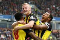 Goal of the day: Hughes fires in for Watford