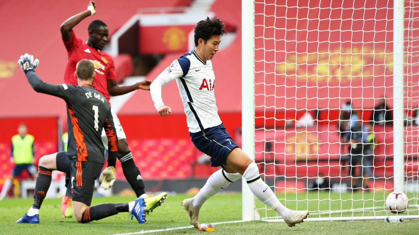 Son Heung-min goal v Man Utd
