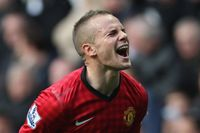 Flashback: Cleverley on target in Man Utd victory