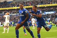 Goal of the day: Harris helps Cardiff to first win on return