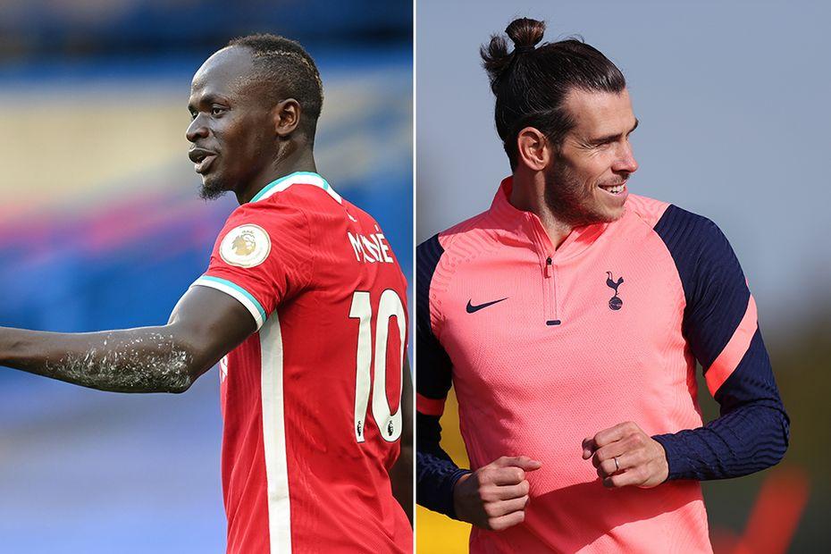 Sadio Mane and Gareth Bale