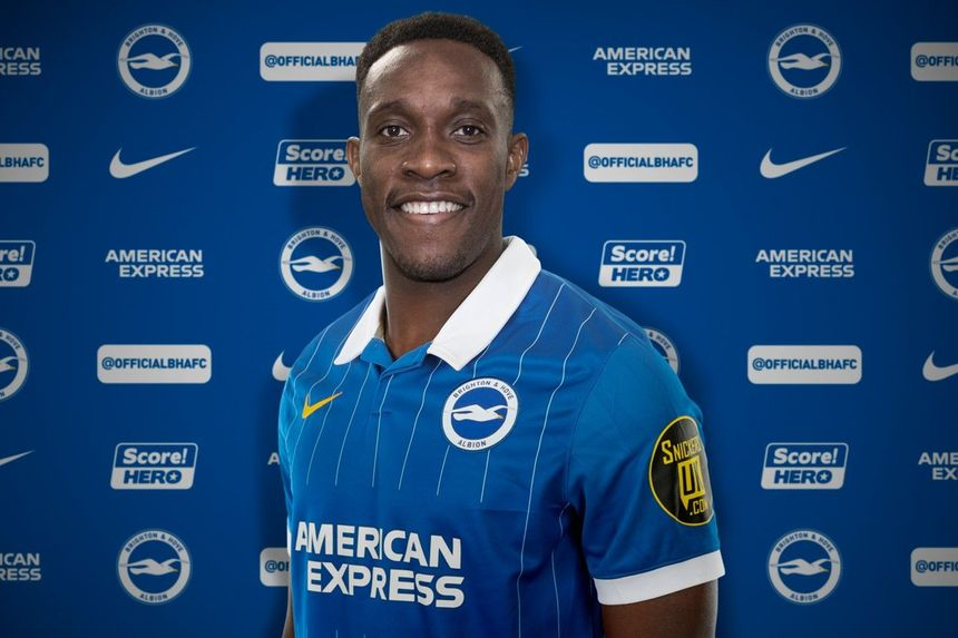 Danny Welbeck joins Brighton