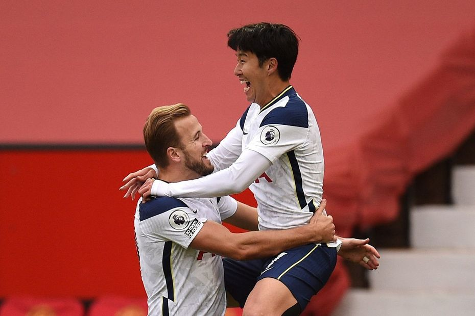 Harry Kane and Heung-Min Son