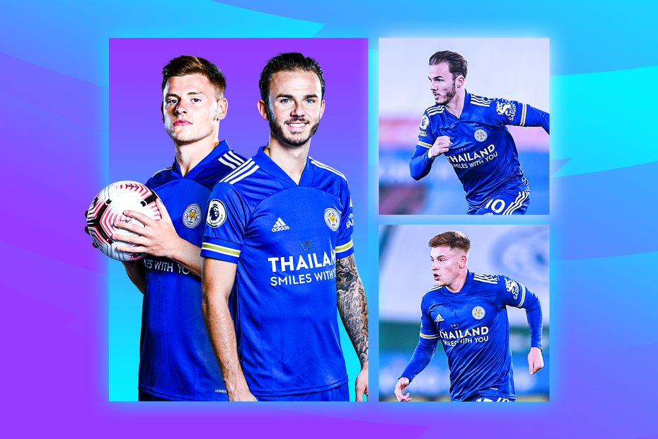 James Maddison and Harvey Barnes, Leicester