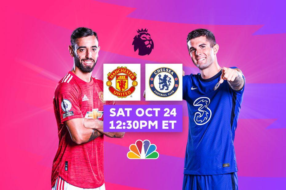 Man Utd v Chelsea, live on NBC