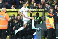 Goal of the day: Baldock's deft footwork
