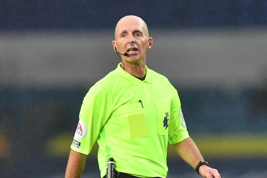Mike Dean, referee