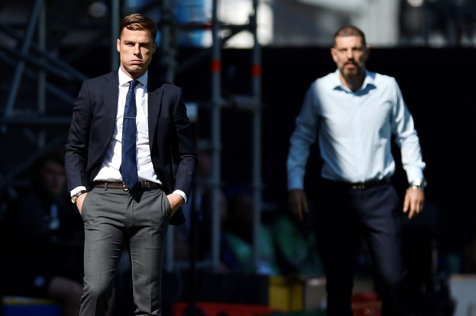 Scott Parker and Slaven Bilic