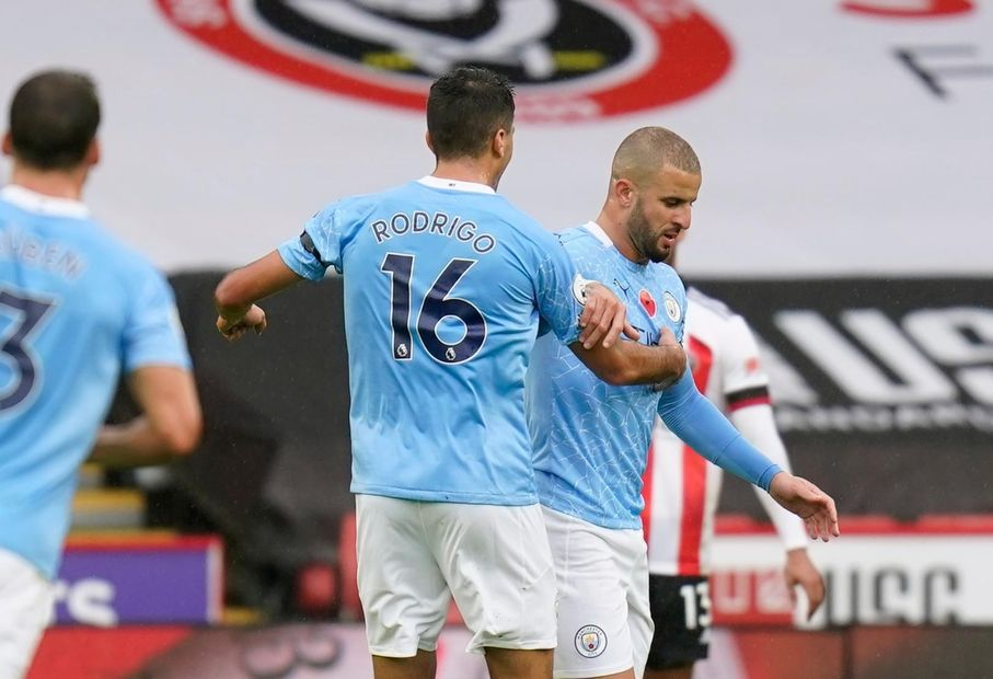 Premier League - Sheffield United v Manchester City