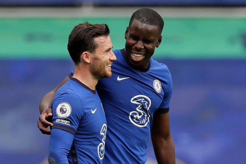 Zouma and Chilwell, Chelsea