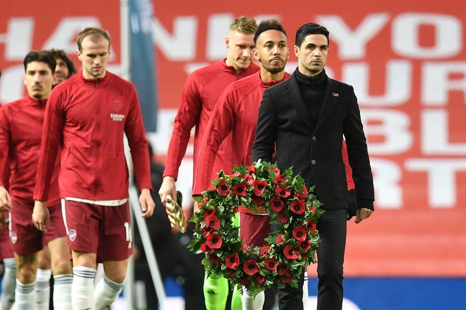 Mikel Arteta wreath