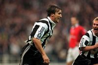 Goal of the day: Ginola fires past Schmeichel