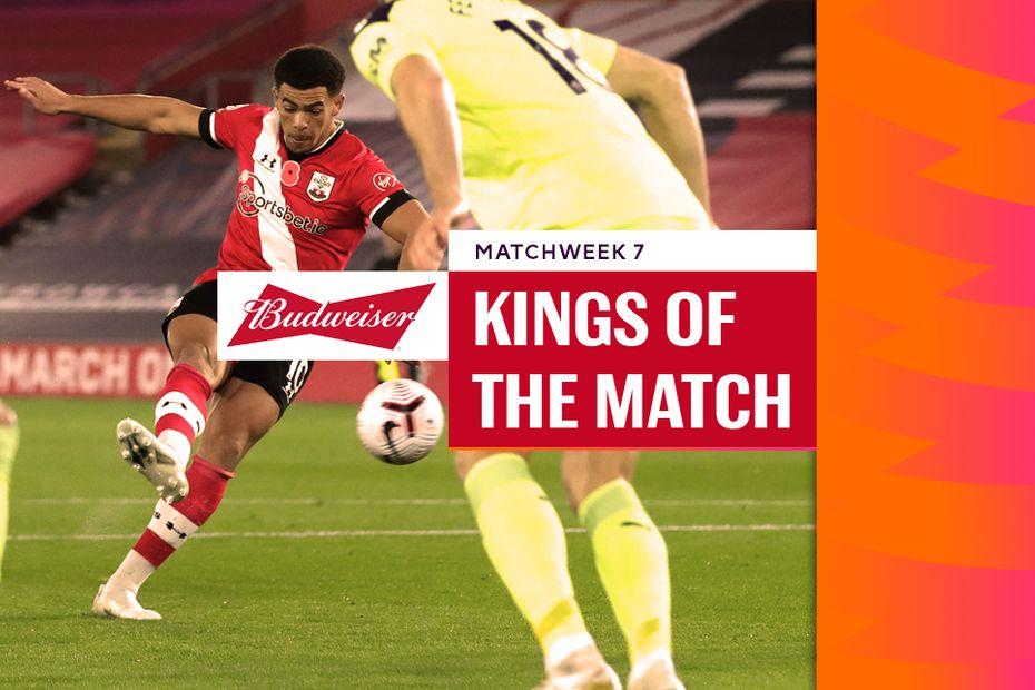 Che Adams, Budweiser King of the Match