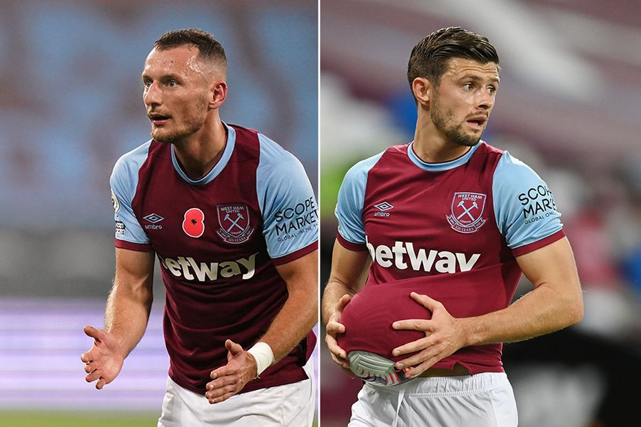 Vladimir Coufal and Aaron Cresswell, West Ham