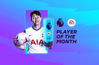 Son earns EA SPORTS Player of the Month award