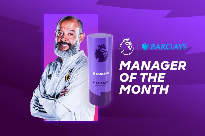 Nuno named Barclays Manager of the Month