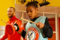 Children keeping fit and healthy with Crystal Palace