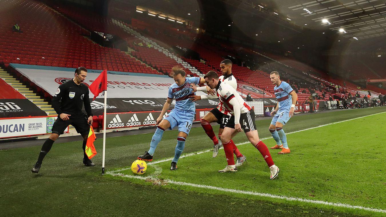 Sheffield United 0-1 West Ham United
