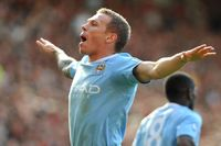 Goal of the day: Bellamy's Manchester derby screamer