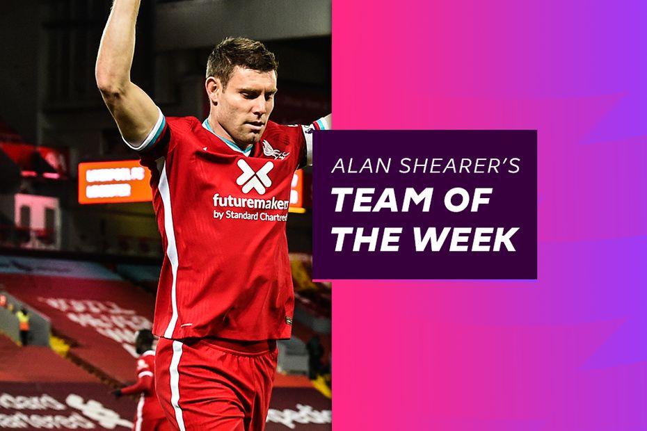 Alan Shearer Team of the Week, Matchweek 9