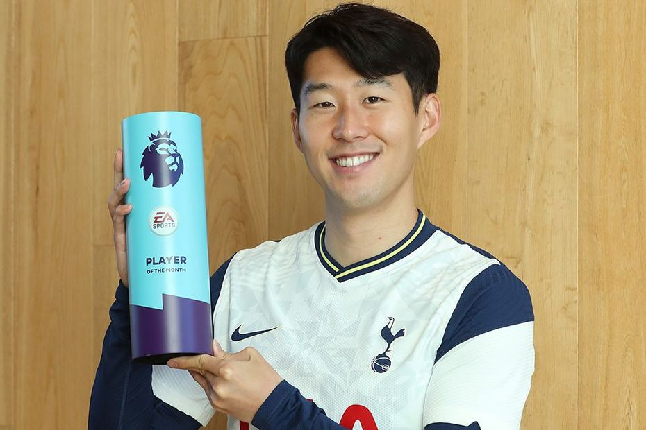 Son Heung-min, EA Sports Player of the Month award