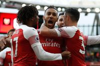 On this day in 2018: Arsenal beat Spurs 4-2