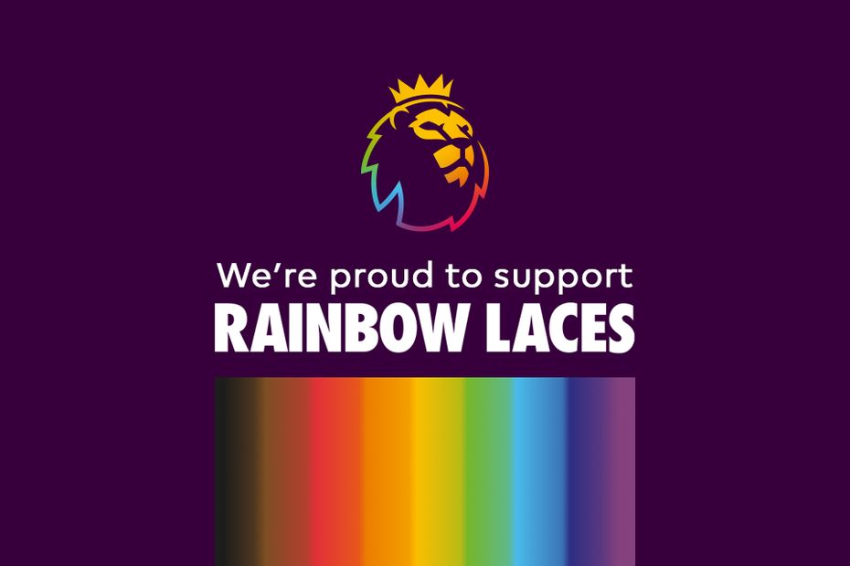 Stonewall's Rainbow Laces campaign