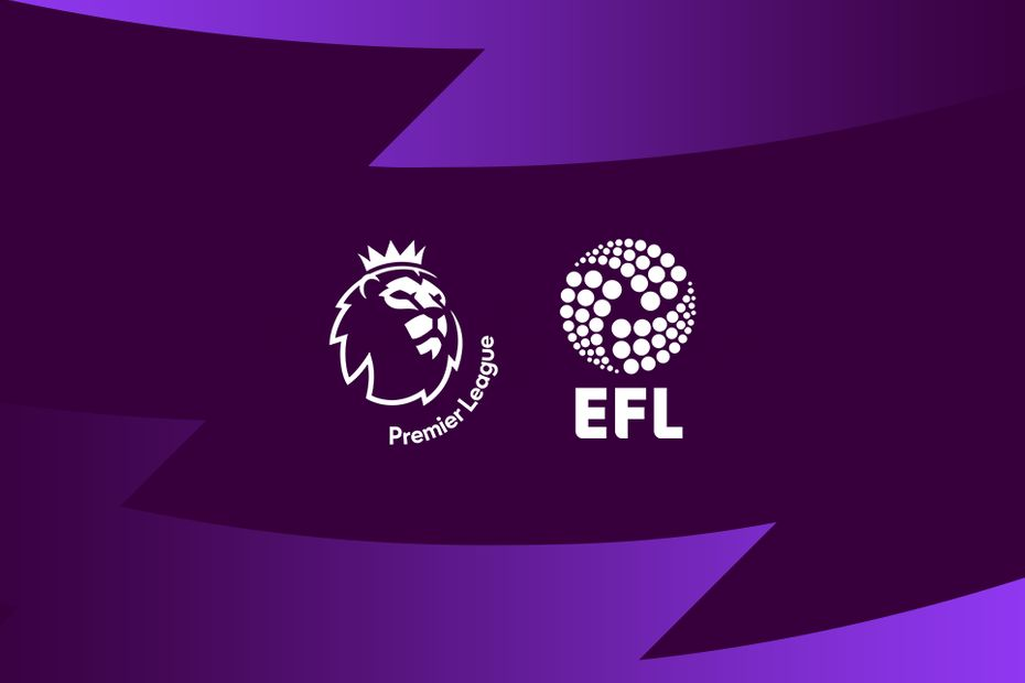Premier League and EFL graphic