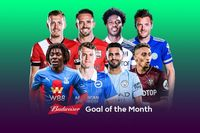 Watch November's Budweiser Goal of the Month contenders