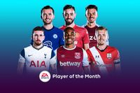 EA SPORTS Player of the Month shortlist for November