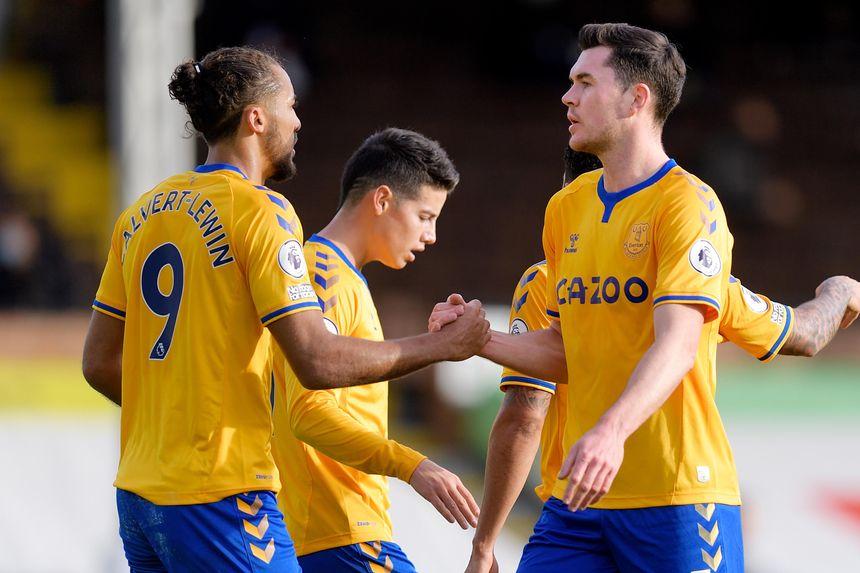 Calvert-Lewin and Keane, Everton