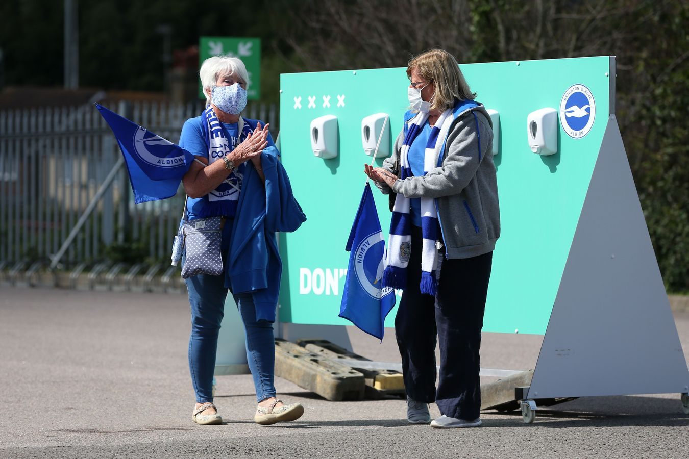 Brighton hand sanitisers