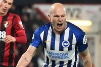 Goal of the day: Mooy strikes in off the post