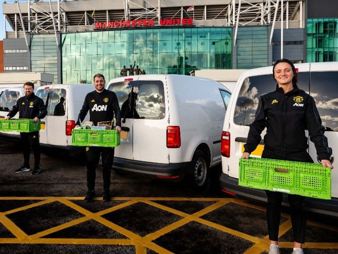 MU Foundation deliver food